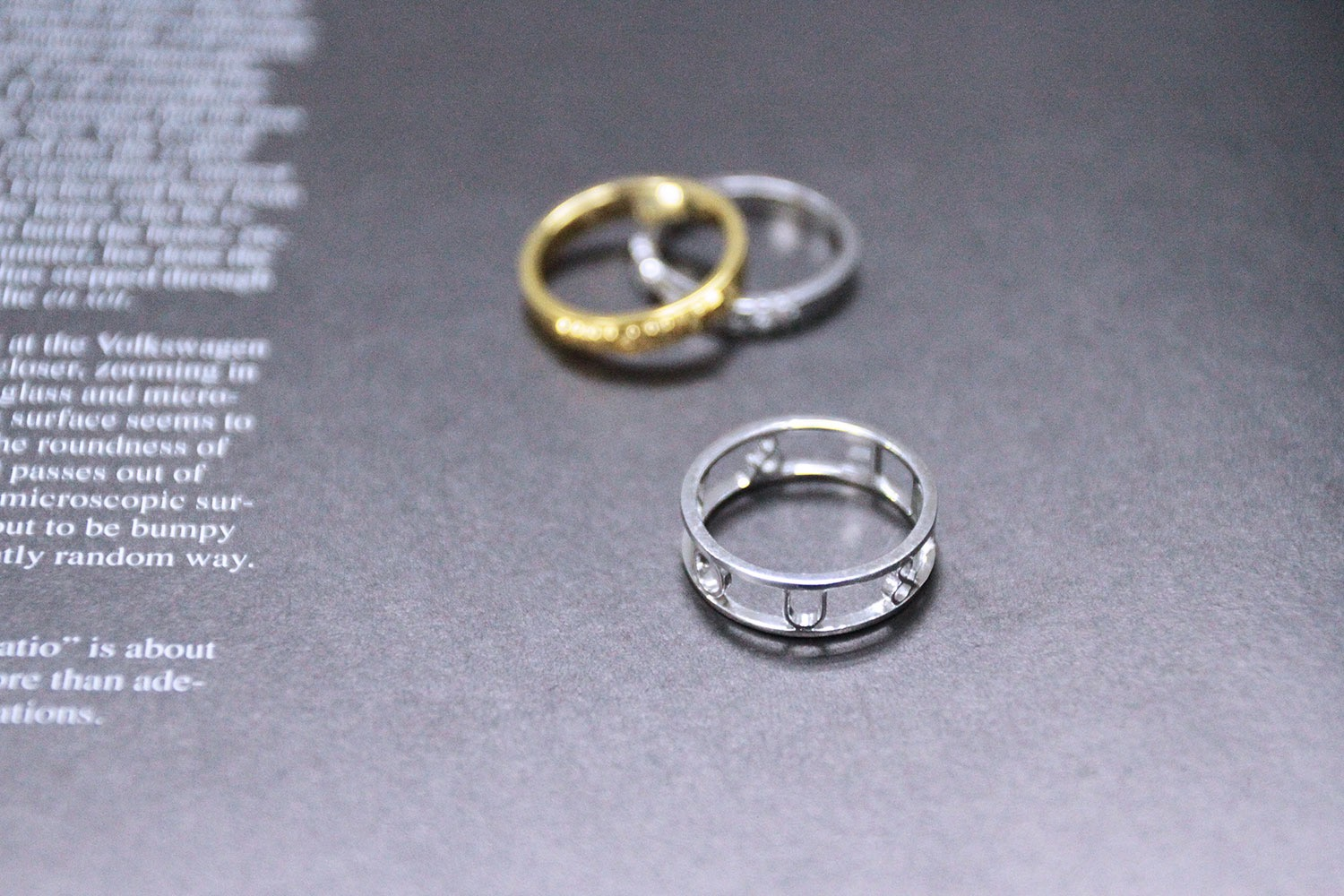 Customize your own sliver rings by Myjewelry cc | Desktop DLP 3D